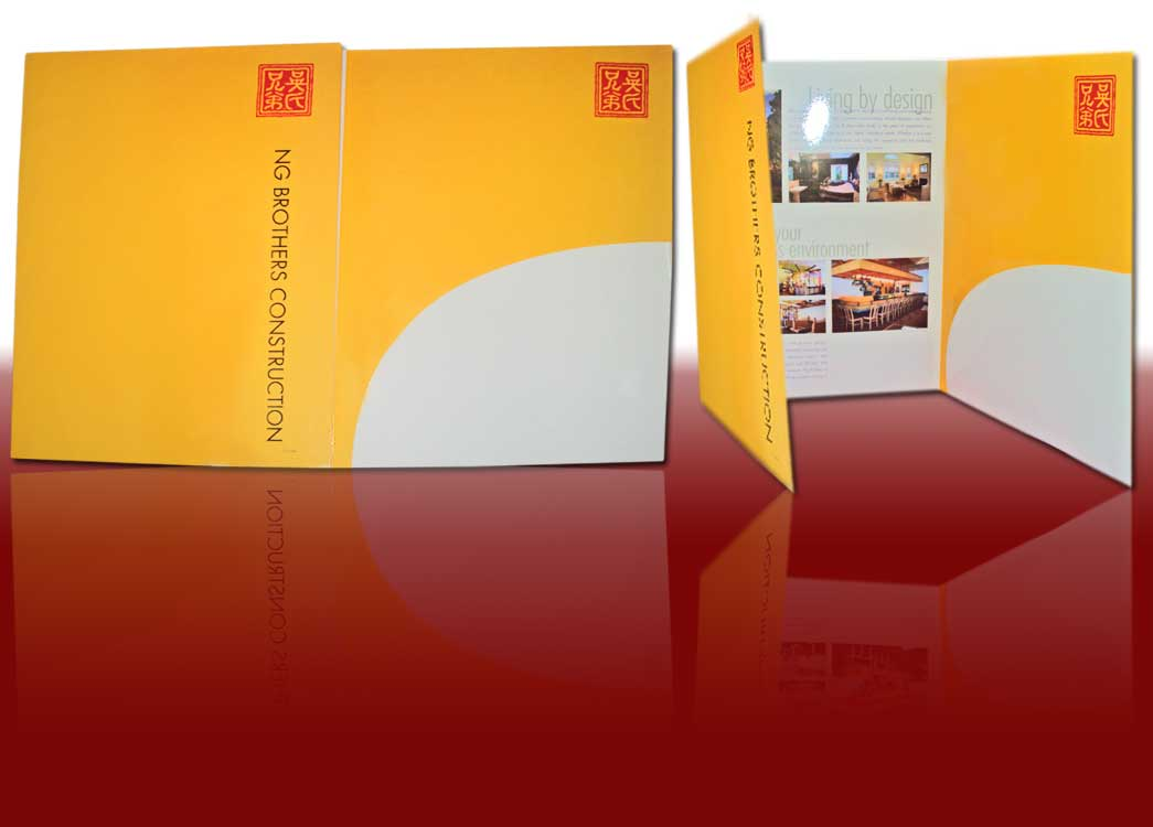 custom presentation folder printing Full color presentation folders introduce your business in the most professional way possible head to your next networking event with these high quality lead generation tools at your fingertips.