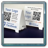 promotional table tents printing