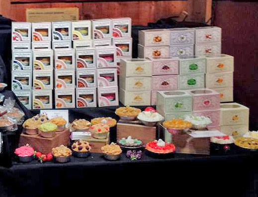 Pie & Muffins Candle Boxes