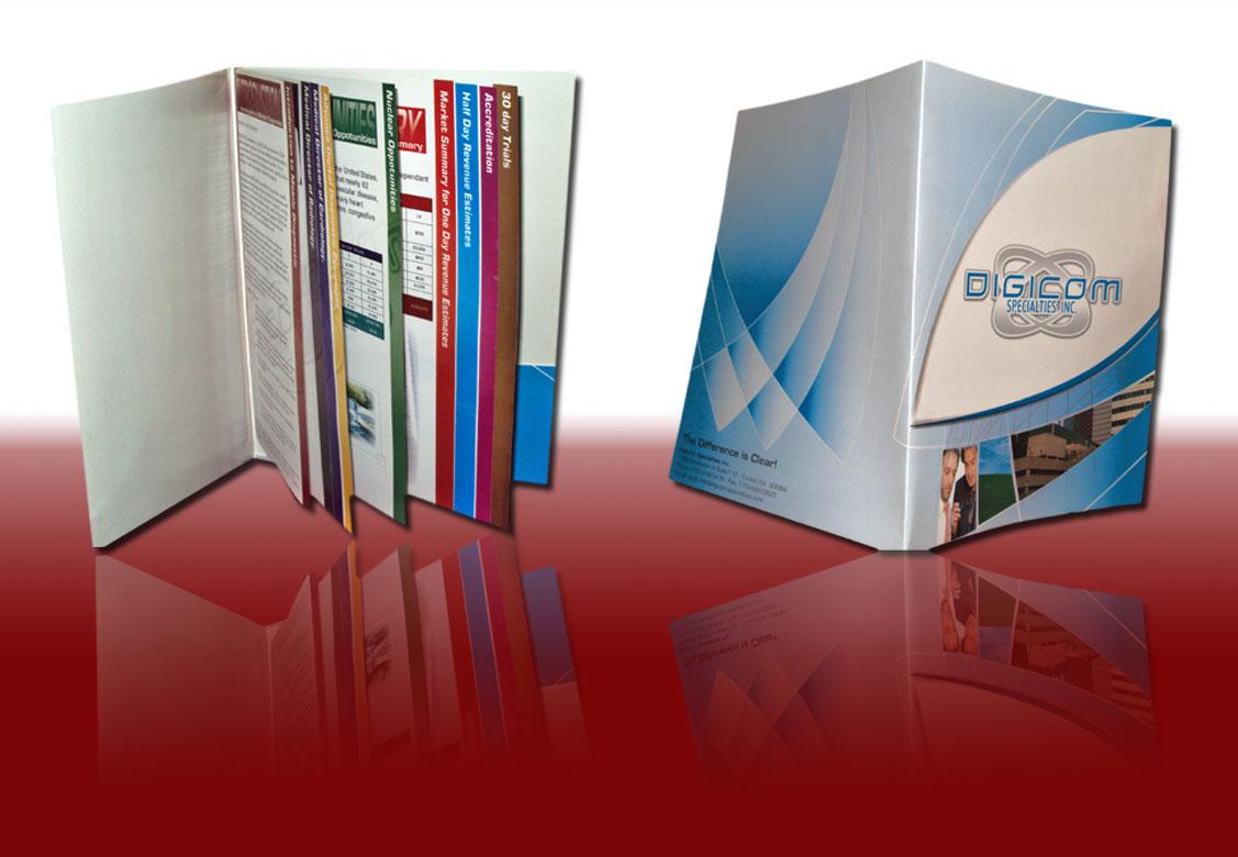 8.5x11 Booklet Folders