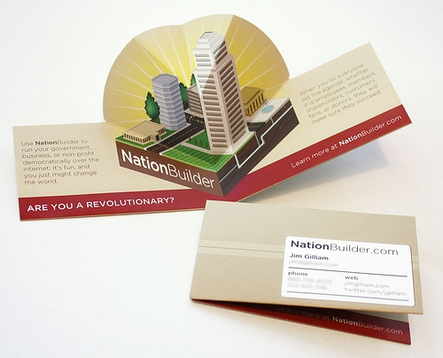 Folded business cardscustom die cut business cards folded custom shape buisnesscards reheart Gallery